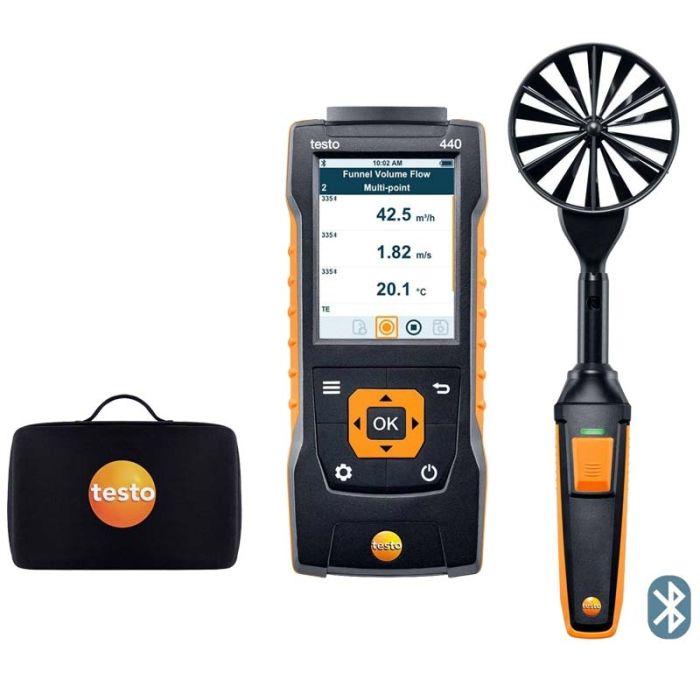 Testo 100mm Vane Kit with Bluetooth