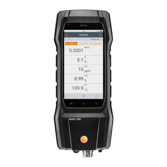 Testo 300 Flue Gas Analyser Black Edition (Handset Only)0633 3002 78