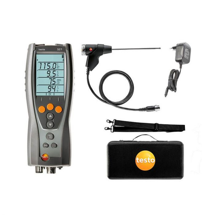 Testo 327-1 Flue Gas Analyser Standard Kit 0563 3203 80