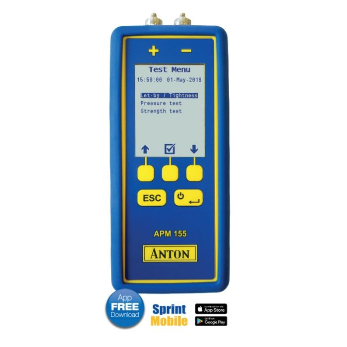 Anton APM155 Differential Pressure Meter with Wif-Fi