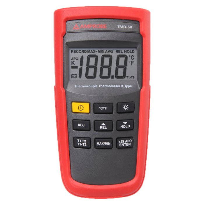 Amprobe TMD-50 Thermocouple Thermometer K-type