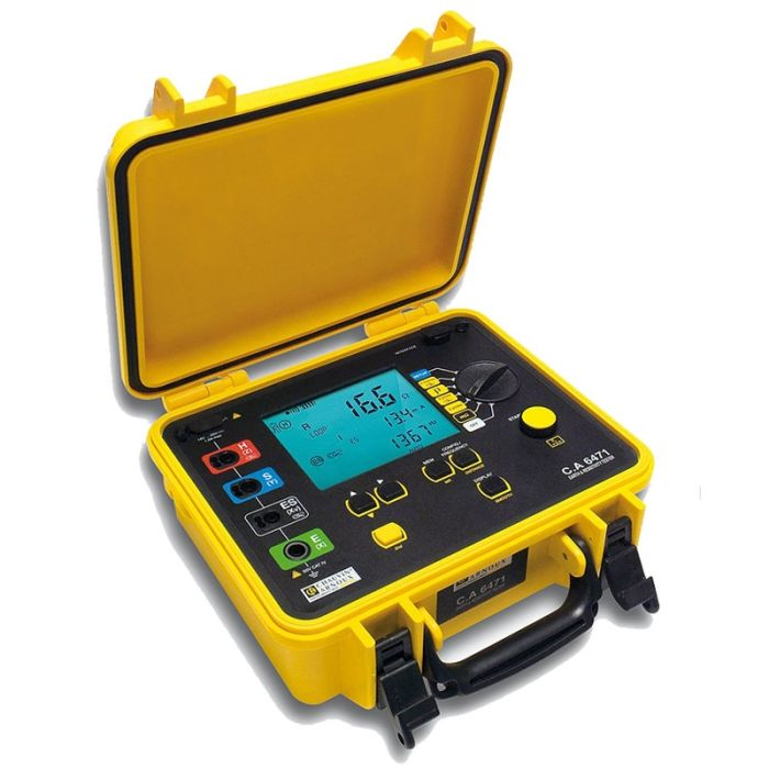 Chauvin Arnoux CA6471 Earth and Resistivity Tester