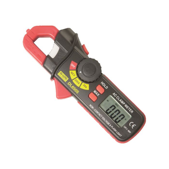 Di-Log DL6505 Mini 200 Amp AC Clamp Meter