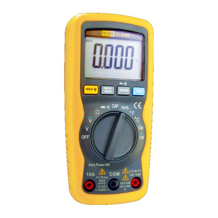 Di-Log DL9206 1000V Compact Digital Multimeter