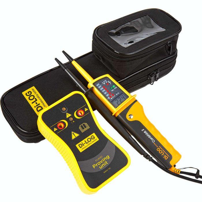 Di-LOG DLPK6790 CombiVolt 2 Voltage Indicator & Proving Unit Kit