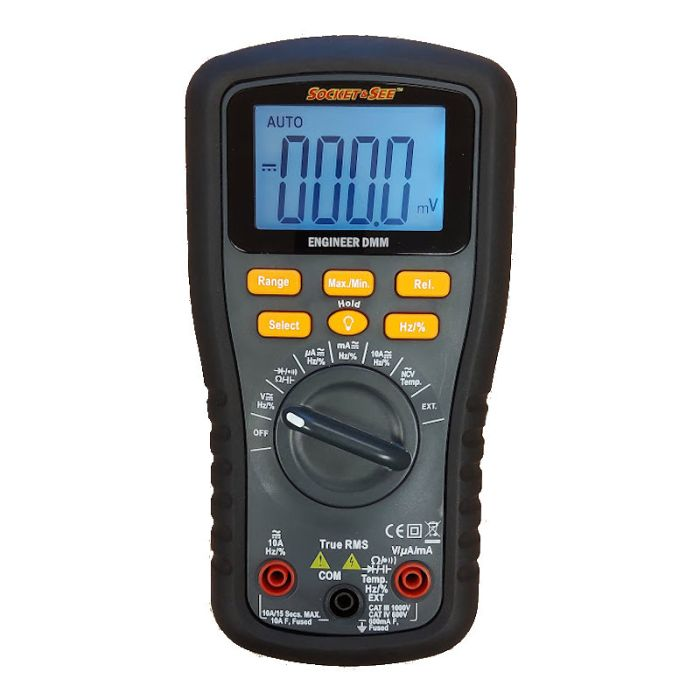 Socket & See Engineer DMM Digital Multimeter