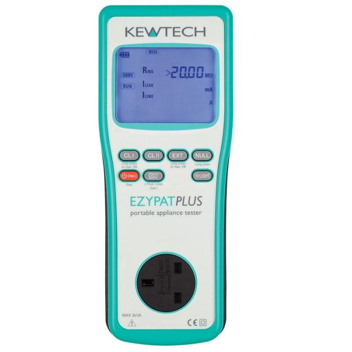 Kewtech EZYPAT Plus PAT Tester