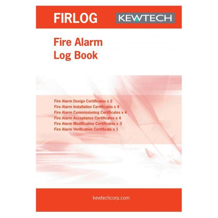 Kewtech Fire Alarm Log Book - FIR1LOG