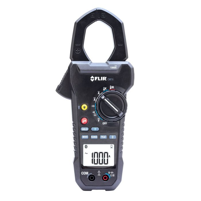FLIR CM78 1000A True RMS Clamp Meter with IR Thermometer