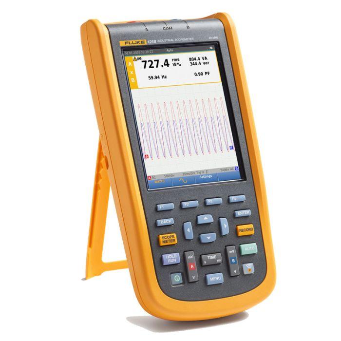 Fluke 125B UK Industrial ScopeMeter Hand Held Oscilloscope (40 MHz)