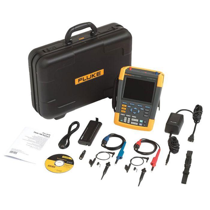 Fluke 190-502/S Color Scopemeter Test Tool Kit
