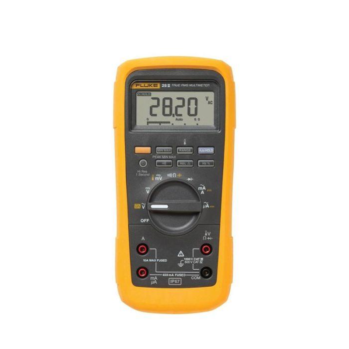 Fluke 28II/EUR True RMS Industrial Multimeter (IP67)