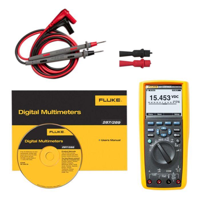 Fluke 287 True RMS Multimeter with Fluke Connect