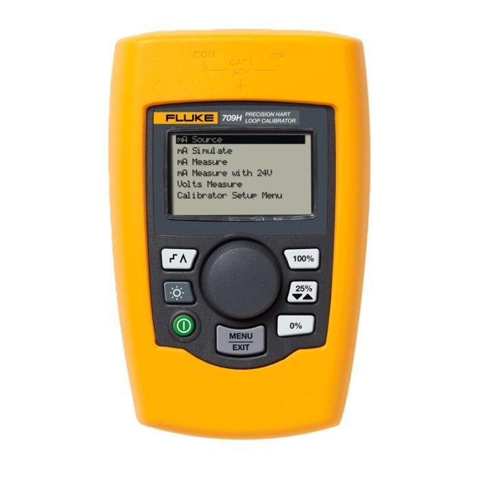 Fluke 709H Loop Calibrator with HART Communication and Diagnostics