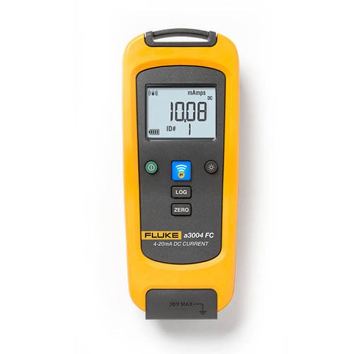 Fluke A3004-FC Wireless 4-20 Milliamp DC Clamp Meter