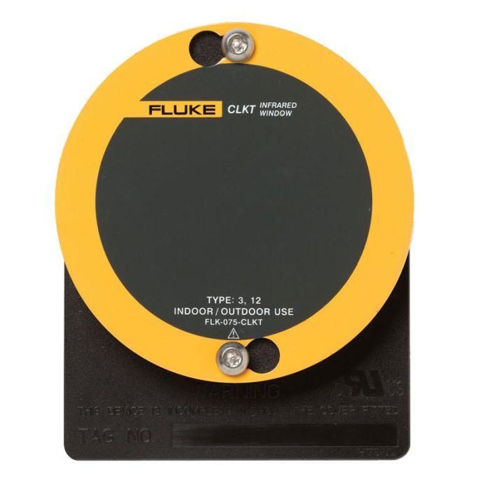 """Fluke FLK-075-CLKT 3"""" (75mm) C-Range IR Window - Kwik Twist"""