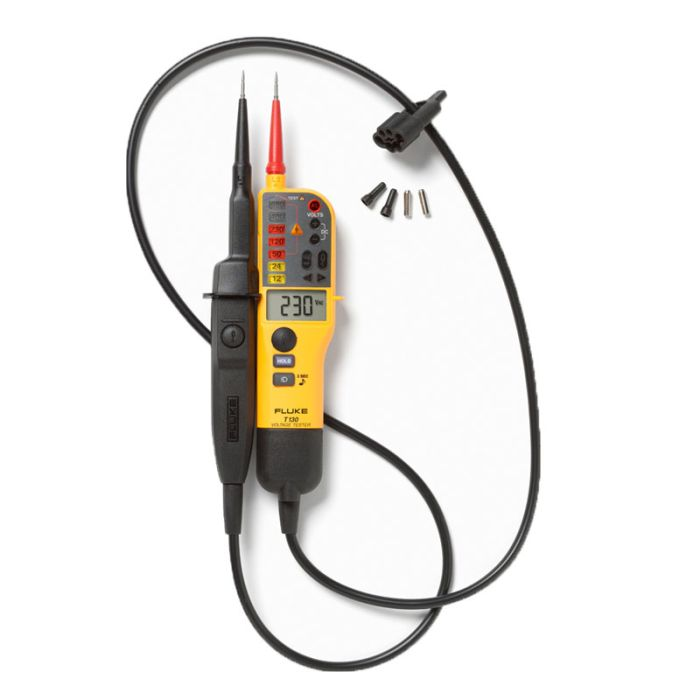 Fluke T130 Voltage & Continuity Tester With Switchable Load and LCD