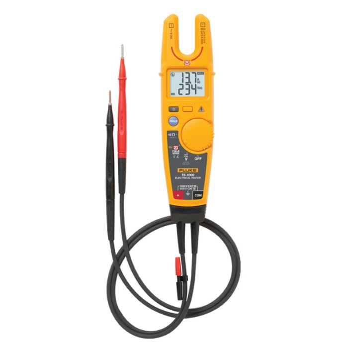 Fluke T6-1000 Electrical Tester with FieldSense Technology
