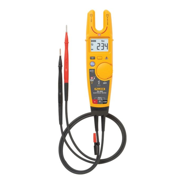 Fluke T6-600 Electrical Tester with FieldSense Technology