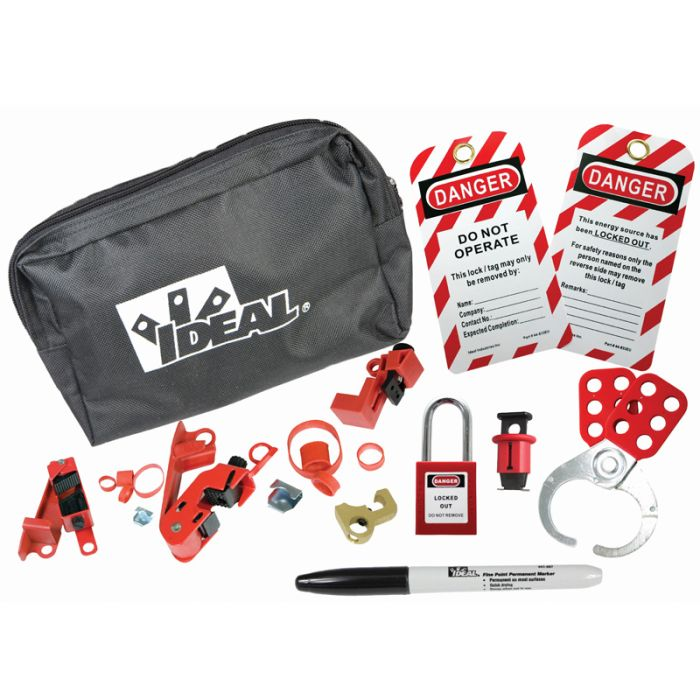 Ideal 44-985UK Industrial Contractor Lock Out Tag Out Kit