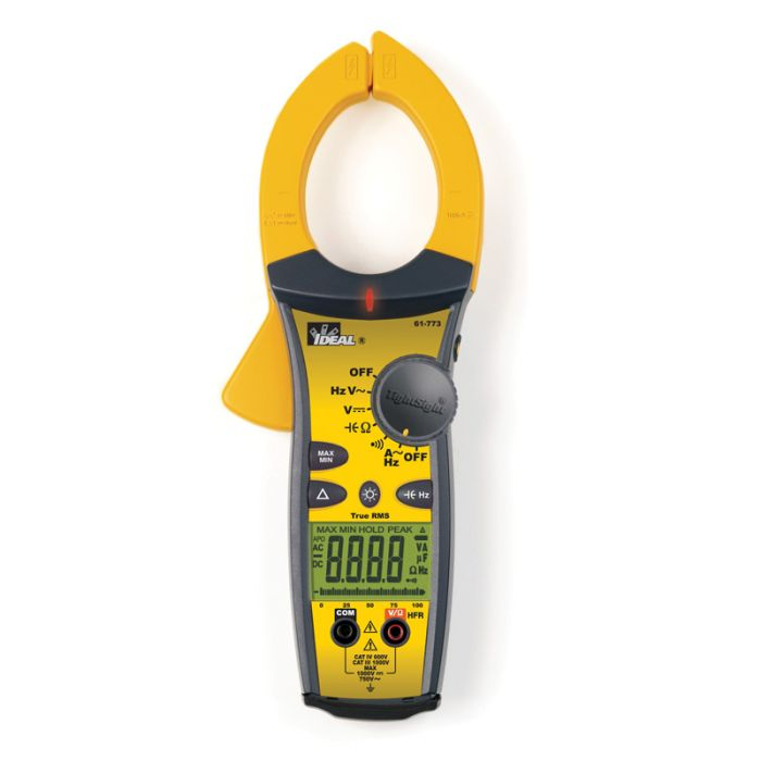Ideal 61-773 Industrial TightSight® Clamp Meter 1000A AC