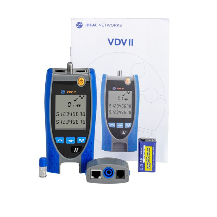 Ideal R158002 VDV II Plus Voice, Data and Video Cable Verifier