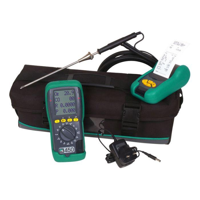 Kane 450 NO Commercial & Domestic Boiler Analyser Kit