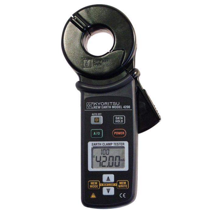 Kewtech TRMS Digital Earth Resistance Clamp Tester 4200