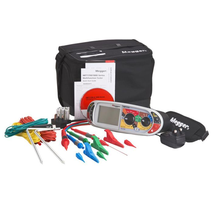 Megger MFT1731 Onsite Multifunction Tester with On-Site Software