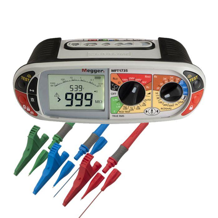 Megger MFT1735 Bluetooth 18th Edition Multifunction Tester