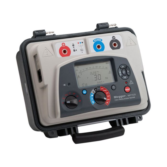 Megger MIT1525-UK 15 kV Diagnostic Insulation Resistance Tester