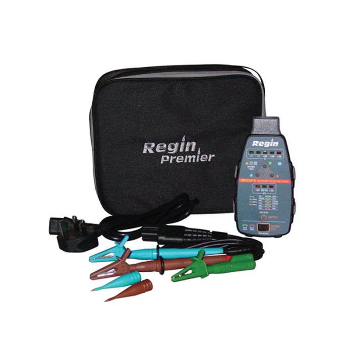 Regin REGXP5 Multifunction Loop Tester with Test Lead Kit