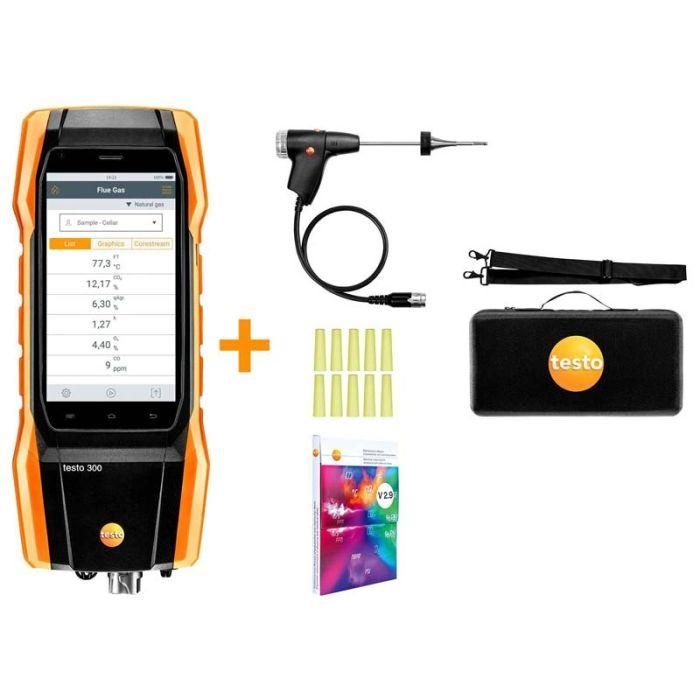 Testo 300 Domestic Flue Gas Analyser (Standard Kit)