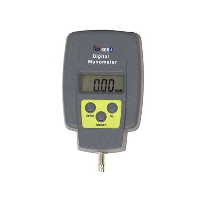TPI 608BT Single Input Manometer with Bluetooth