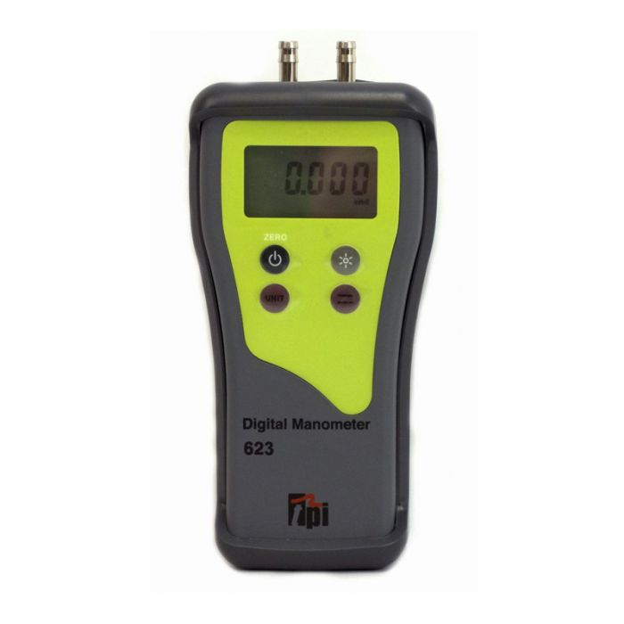 TPI 623 Dual Input High-Resolution Digital Manometer