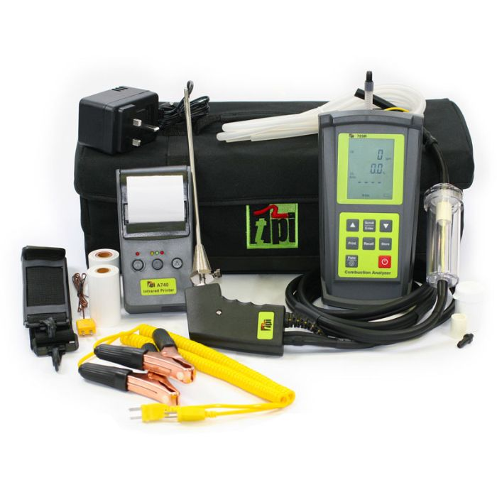 TPI 709R Kit 2 Gas Analyser