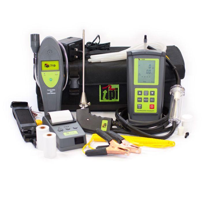 TPI 709R Kit 4 Gas Analyser