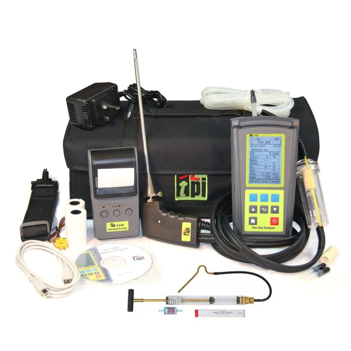 TPI 716 Kit 1 OIL Combustion Analyser