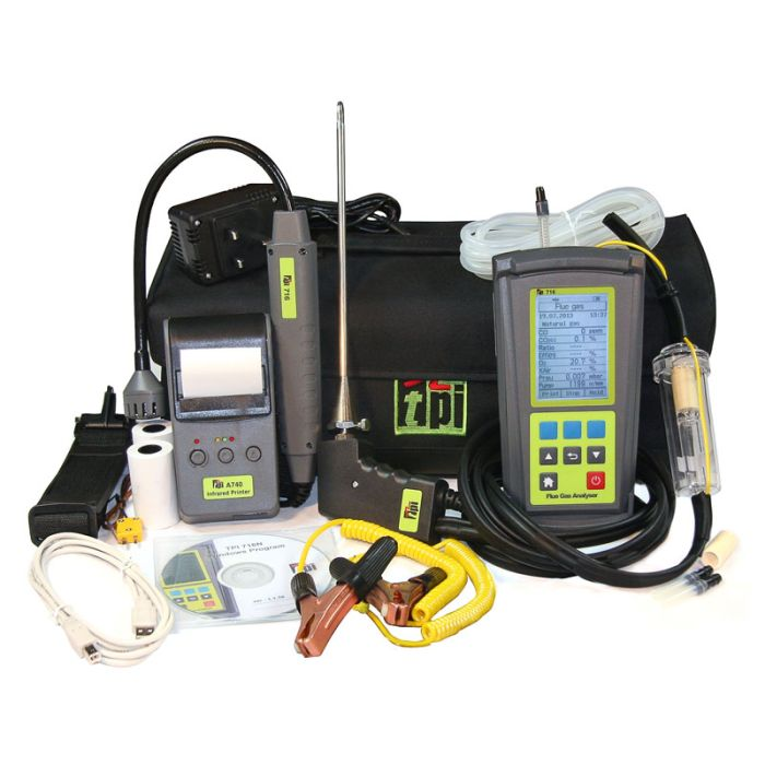 TPI 716 Kit 4 Combustion Analyser