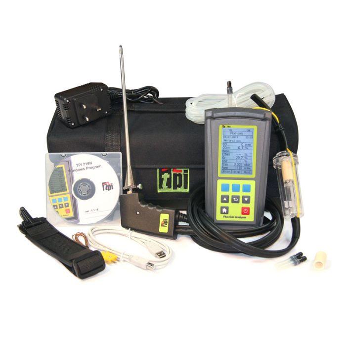 TPI 716 Kit Combustion Analyser
