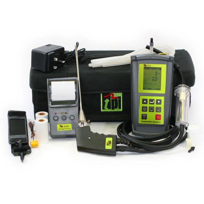 TPI 717R Kit 1 Flue Gas Analyser Kit