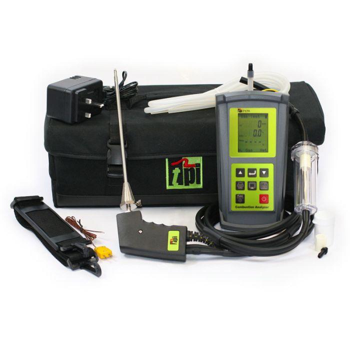 TPI 717R Kit Flue Gas Analyser Kit