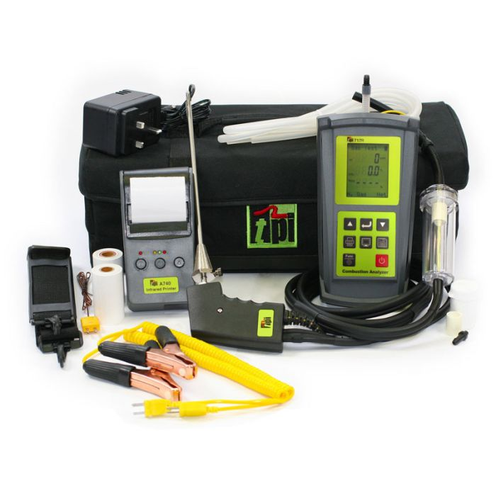 TPI 717R Kit 2 Flue Gas Analyser Kit