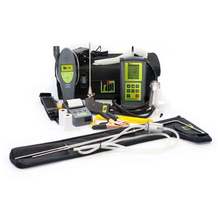 TPI 717R Kit 5 Flue Gas Analyser Kit