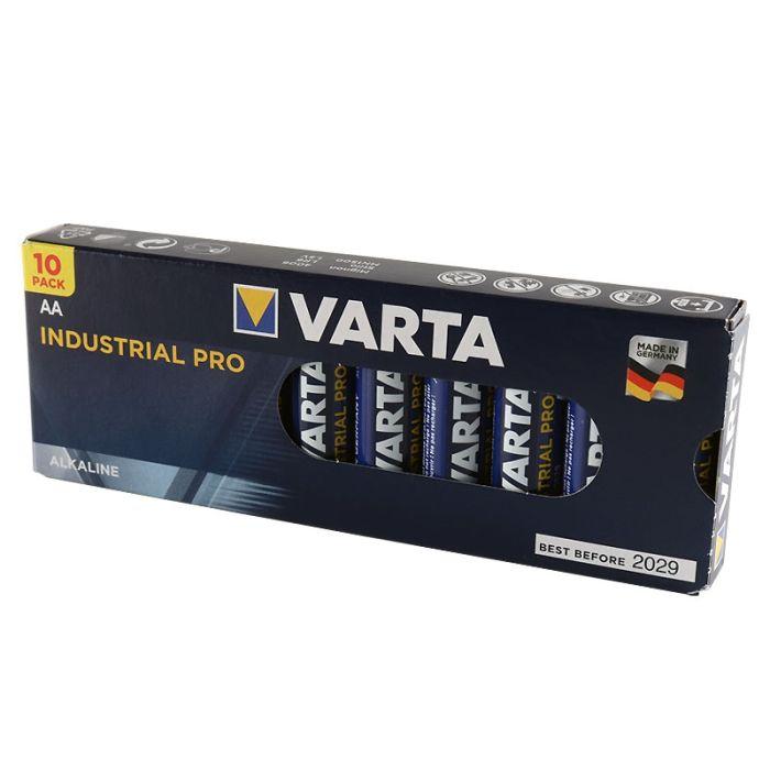 Varta Industrial Pro AA Alkaline Batteries (10 pack)