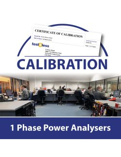 1 Phase Power Analyser Calibration