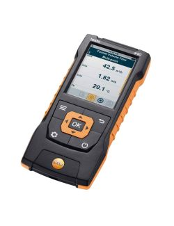 Testo 440 - Air velocity and IAQ measuring instrument