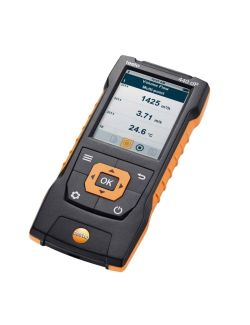 Testo 440 - Air velocity and IAQ measuring instrument including differential pressure sensor