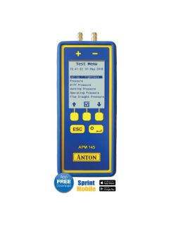 Anton APM145 Differential Pressure Meter with Wif-Fi