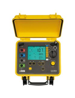 Chauvin Arnoux CA6472 Earth and Resistivity Tester